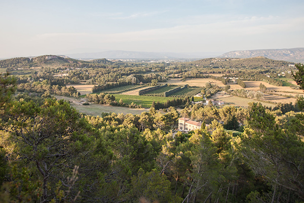 The view from Villa YNF TOU (Chateau de la Tour) at France, Provence - Les Alpilles Area, Family-Friendly Villa, Pool, 6 Bedrooms, 6 Bathrooms, WiFi, WIMCO Villas