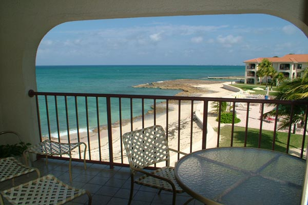 The view from Villa CM GTV (George Town #318) at Grand Cayman, Seven Mile Beach, Family-Friendly Villa, Pool, 2 Bedrooms, 2 Bathrooms, WiFi, WIMCO Villas
