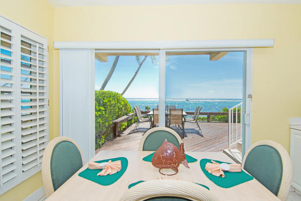 Dining Room at Villa CM CD12 (Caribbean Paradise #12) at Grand Cayman, South Shore, Family-Friendly Villa, Pool, 3 Bedrooms, 2 Bathrooms, WiFi, WIMCO Villas