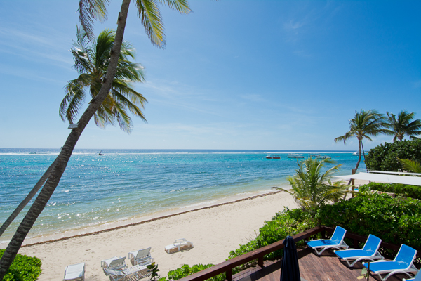 The view from Villa CM CD12 (Caribbean Paradise #12) at Grand Cayman, South Shore, Family-Friendly Villa, Pool, 3 Bedrooms, 2 Bathrooms, WiFi, WIMCO Villas