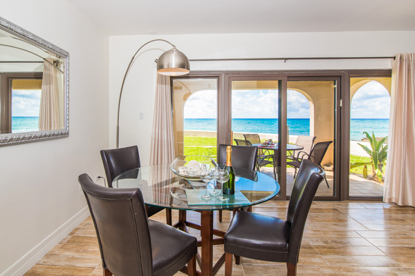 Dining Room at WIMCO Villa CM GTV1 (George Town #101) at Seven Mile Beach, Grand Cayman