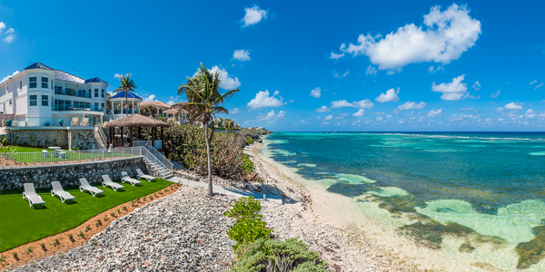 Beach at WIMCO Villa GCM GBE (Great Bluff Estate) at East End, Grand Cayman