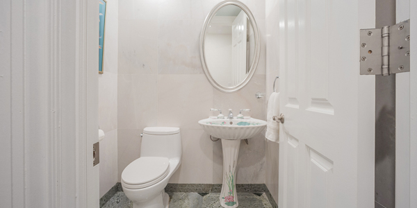 Bathroom at WIMCO Villa GCM GBE (Great Bluff Estate) at East End, Grand Cayman