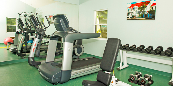 Gym at WIMCO Villa GCM SEO (Sea Orchard Retreat) at Seven Mile Beach, Grand Cayman