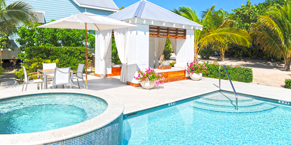 Villa Pool at WIMCO Villa GCM SEO (Sea Orchard Retreat) at Seven Mile Beach, Grand Cayman