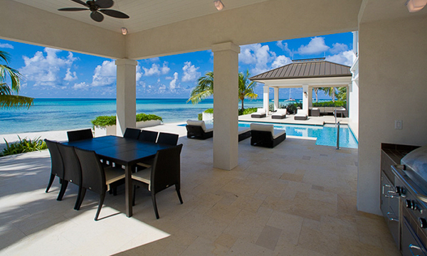 Terrace at Villa GCM SUN (Sun Salutations) at Grand Cayman, Rum Point, Family-Friendly Villa, Pool, 4 Bedrooms, 6 Bathrooms, WiFi, WIMCO Villas