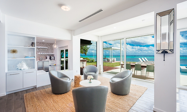 Sitting Room at Villa GCM TRN (Tranquility Cove) at Grand Cayman, South Shore, Family-Friendly Villa, Pool, 6 Bedrooms, 6 Bathrooms, WiFi, WIMCO Villas