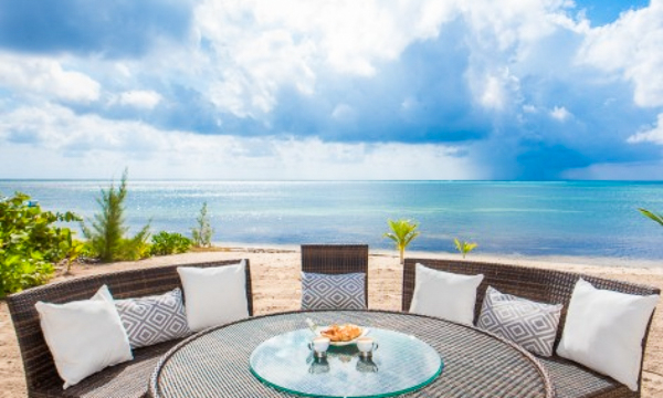 The view from WIMCO Villa GCM WHT (White Cottage) at South Shore, Grand Cayman
