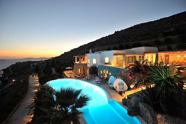 Exterior of Villa LIV APO (Apollo Retreat) at Greece, Mykonos, Family-Friendly Villa, Pool, 4 Bedrooms, 4 Bathrooms, WiFi, WIMCO Villas