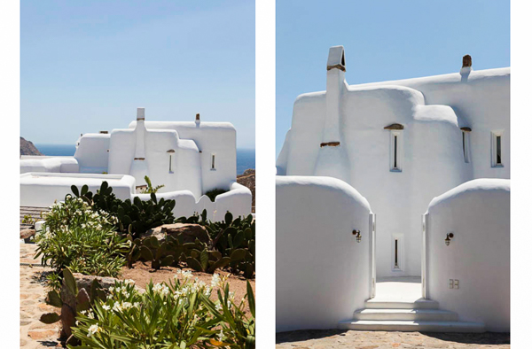 Exterior of Villa LIV INF (Infinity) at Greece, Mykonos, Family-Friendly Villa, Pool, 5 Bedrooms, 5 Bathrooms, WiFi, WIMCO Villas