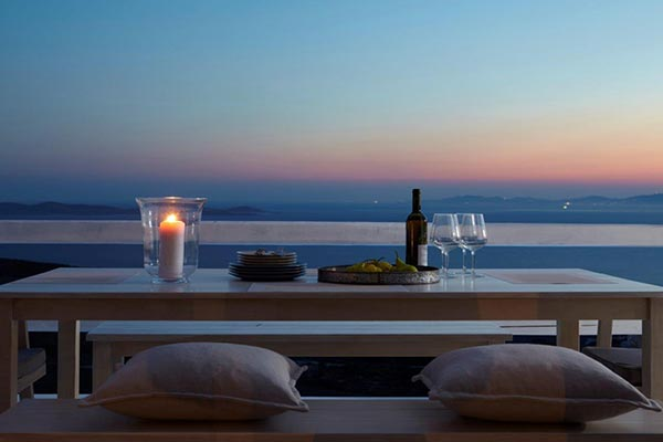 The view from Villa LIV MSH (Moon Shadow) at Greece, Mykonos, Family-Friendly Villa, Pool, 4 Bedrooms, 3 Bathrooms, WiFi, WIMCO Villas