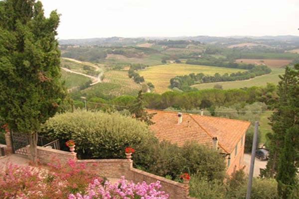 The view from Villa BRV GIN (Palazzo) at Italy, Tuscany, Family-Friendly Villa, Pool, 6 Bedrooms, 6 Bathrooms, WiFi, WIMCO Villas