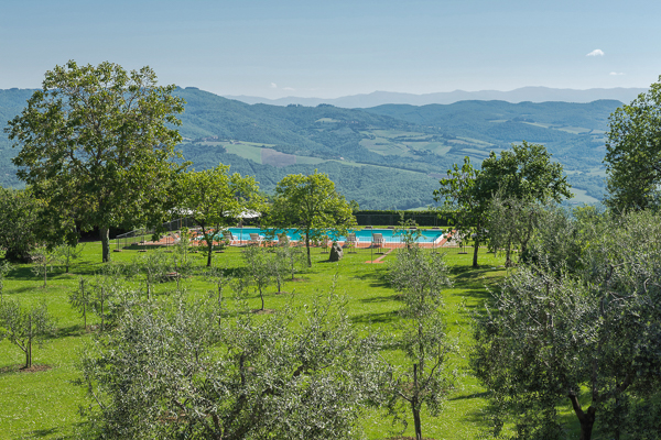 Villa Pool at Villa BRV ALN (Alina) at Italy, Tuscany, Family-Friendly Villa, Pool, 5 Bedrooms, 5 Bathrooms, WiFi, WIMCO Villas