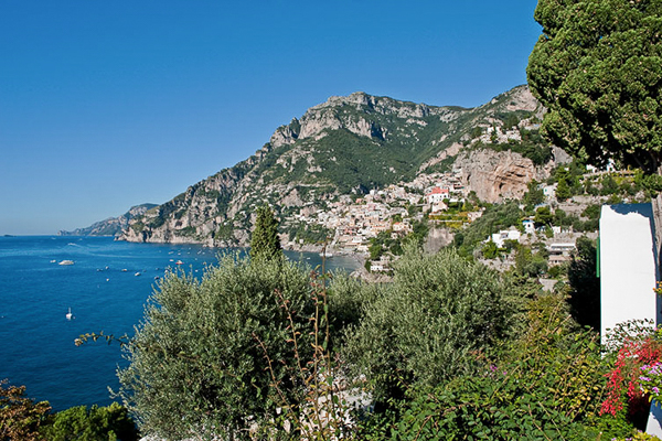The view from Villa BRV ALT (Alta) at Italy, Amalfi Coast, Family-Friendly Villa, Pool, 4 Bedrooms, 5 Bathrooms, WiFi, WIMCO Villas
