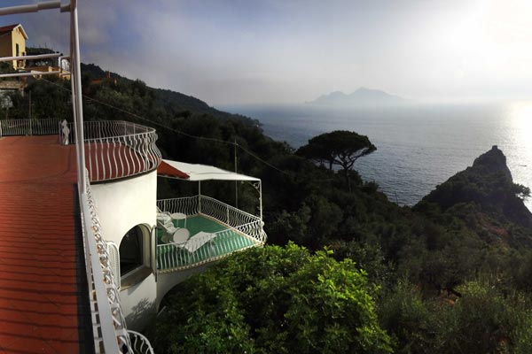 The view from Villa BRV AZZ (Azzurra) at Italy, Amalfi Coast, Family-Friendly Villa, Pool, 5 Bedrooms, 5 Bathrooms, WiFi, WIMCO Villas