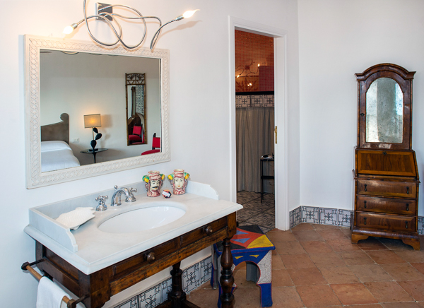 Bathroom at Villa BRV EUG (Eugenia) at Italy, Amalfi Coast, Family-Friendly Villa, Pool, 5 Bedrooms, 4 Bathrooms, WiFi, WIMCO Villas