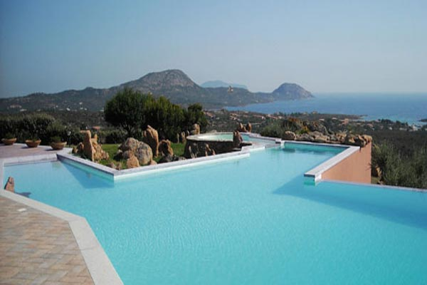 Villa Pool at Villa HII VOP (Volpe) at Italy, Sardinia, Family-Friendly Villa, Pool, 6 Bedrooms, 6 Bathrooms, WiFi, WIMCO Villas