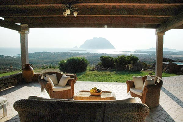 The view from Villa HII VOP (Volpe) at Italy, Sardinia, Family-Friendly Villa, Pool, 6 Bedrooms, 6 Bathrooms, WiFi, WIMCO Villas