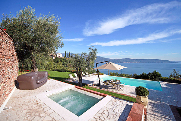 Terrace at Villa HII LAI (Laise) at Italy, Lake Regions, Family-Friendly Villa, Pool, 3 Bedrooms, 3 Bathrooms, WiFi, WIMCO Villas