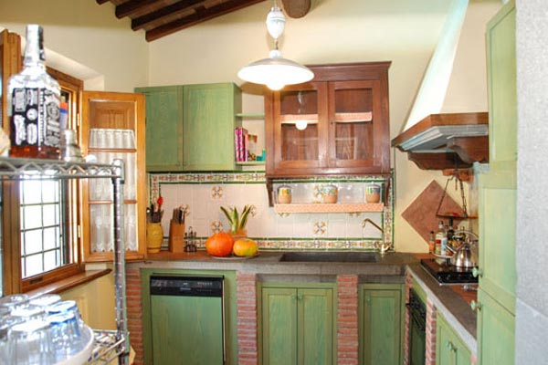 Kitchen at Villa SAL MNC (Al Mennucci) at Italy, Tuscany/Lucca, Family-Friendly Villa, Pool, 3 Bedrooms, 3 Bathrooms, WiFi, WIMCO Villas
