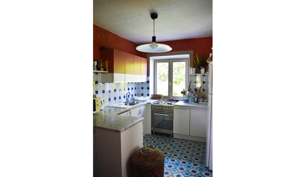 Kitchen at Villa SAL BVD (Belvedere) at Italy, Sardinia, Family-Friendly Villa, Pool, 5 Bedrooms, 4 Bathrooms, WiFi, WIMCO Villas