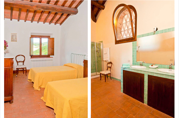 Villa SAL COR (La Corte di Campalli) at Italy, Tuscany/Chianti, Family-Friendly Villa, Pool, 6 Bedrooms, 5 Bathrooms, WiFi, WIMCO Villas