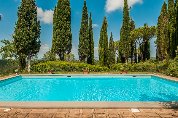 Villa Pool at Villa SAL FON (Fontanelle) at Italy, Tuscany/Val D Orcia, Family-Friendly Villa, Pool, 5 Bedrooms, 5 Bathrooms, WiFi, WIMCO Villas