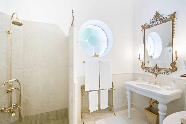 Bathroom at Villa YPI SNO (Il Sogno) at Italy, Amalfi Coast, Family-Friendly Villa, 4 Bedrooms, 4 Bathrooms, WiFi, WIMCO Villas