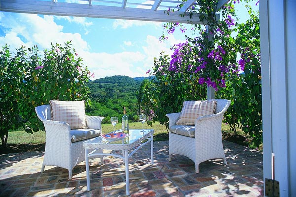 Terrace at Villa VL BNT (Bumpers Nest at the Tryall Club) at Jamaica, Montego Bay, Family-Friendly Villa, Pool, 6 Bedrooms, 6 Bathrooms, WiFi, WIMCO Villas