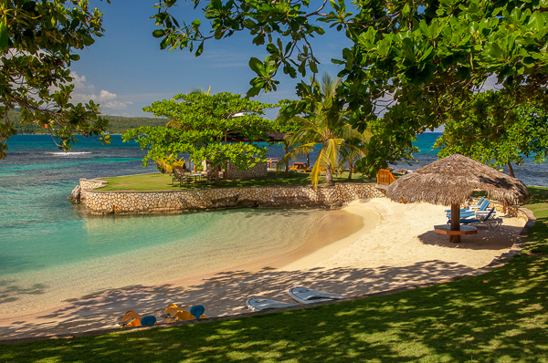 Beach at Villa VL FPB (Fortlands Point on the Beach) at Jamaica, Discovery Bay, Family-Friendly Villa, Pool, 7 Bedrooms, 8 Bathrooms, WiFi, WIMCO Villas