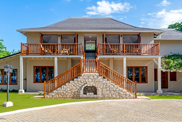 Exterior of Villa VL FPB (Fortlands Point on the Beach) at Jamaica, Discovery Bay, Family-Friendly Villa, Pool, 7 Bedrooms, 8 Bathrooms, WiFi, WIMCO Villas