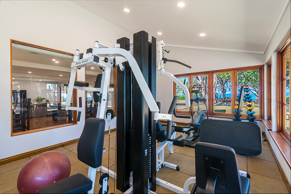 Gym at Villa VL FPB (Fortlands Point on the Beach) at Jamaica, Discovery Bay, Family-Friendly Villa, Pool, 7 Bedrooms, 8 Bathrooms, WiFi, WIMCO Villas