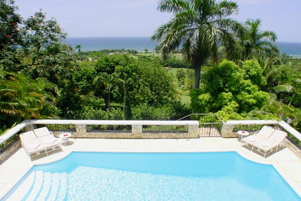 The view from Villa VL FTC (Fairwinds at the Tryall Club) at Jamaica, Montego Bay, Family-Friendly Villa, Pool, 4 Bedrooms, 4 Bathrooms, WiFi, WIMCO Villas