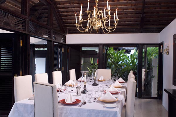 Dining Room at Villa VL GOA (Goat Hill) at Jamaica, Montego Bay, Pool, 3 Bedrooms, 4 Bathrooms, WiFi, WIMCO Villas