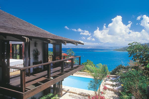 The view from Villa VL GOA (Goat Hill) at Jamaica, Montego Bay, Pool, 3 Bedrooms, 4 Bathrooms, WiFi, WIMCO Villas