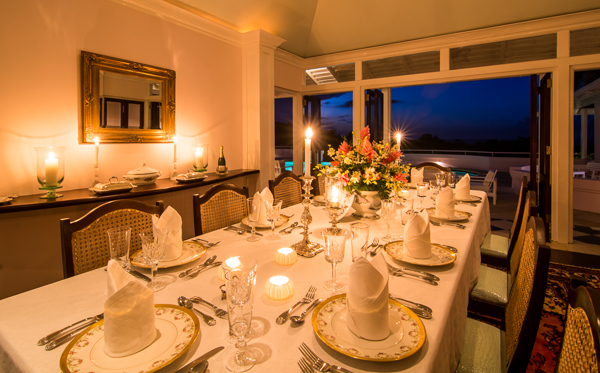 Dining Room at Villa VL GRH (Great River House) at Jamaica, Montego Bay, Family-Friendly Villa, Pool, 5 Bedrooms, 6 Bathrooms, WiFi, WIMCO Villas