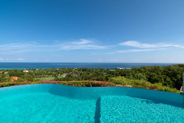 The view from Villa VL GRV (Greatview) at Jamaica, Montego Bay, Family-Friendly Villa, Pool, 6 Bedrooms, 8 Bathrooms, WiFi, WIMCO Villas