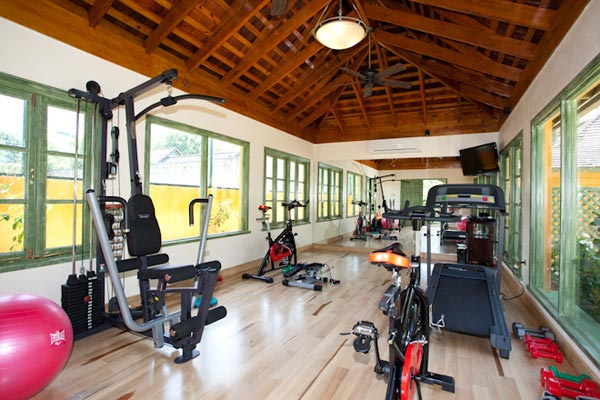 Gym at Villa VL KWB (Keela Wee on the Beach) at Jamaica, Discovery Bay, Family-Friendly Villa, Pool, 6 Bedrooms, 6 Bathrooms, WiFi, WIMCO Villas