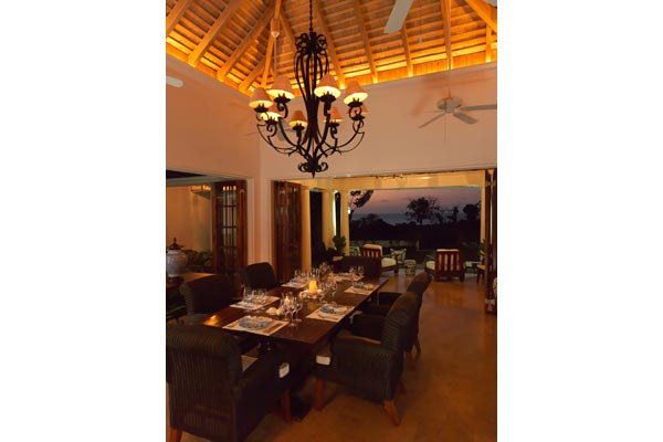 Dining Room at Villa VL SST (Sea Salt at the Tryall Club) at Jamaica, Montego Bay, Family-Friendly Villa, Pool, 5 Bedrooms, 5 Bathrooms, WiFi, WIMCO Villas