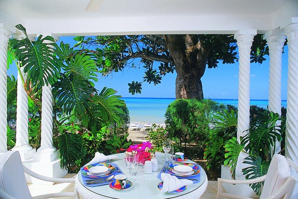 Dining Room at Villa VL TRB (Tranquillity on the Beach) at Jamaica, Montego Bay, Family-Friendly Villa, Pool, 7 Bedrooms, 6 Bathrooms, WiFi, WIMCO Villas