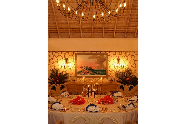 Dining Room at Villa VL VTC (Vista del Mar at the Tryall Club) at Jamaica, Montego Bay, Pool, 3 Bedrooms, 3 Bathrooms, WiFi, WIMCO Villas