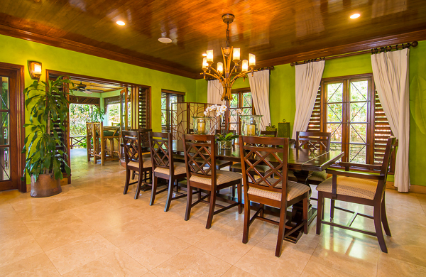 Dining Room at Villa VL WWB (Whispering Waters on the Beach) at Jamaica, Discovery Bay, Family-Friendly Villa, Pool, 7 Bedrooms, 7 Bathrooms, WiFi, WIMCO Villas
