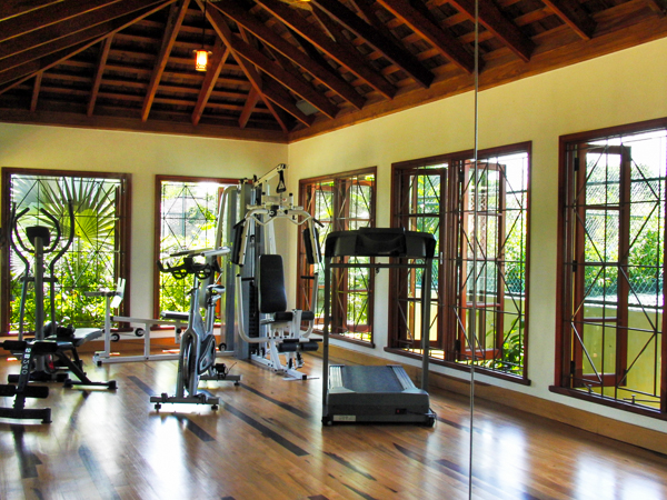 Gym at Villa VL WWB (Whispering Waters on the Beach) at Jamaica, Discovery Bay, Family-Friendly Villa, Pool, 7 Bedrooms, 7 Bathrooms, WiFi, WIMCO Villas