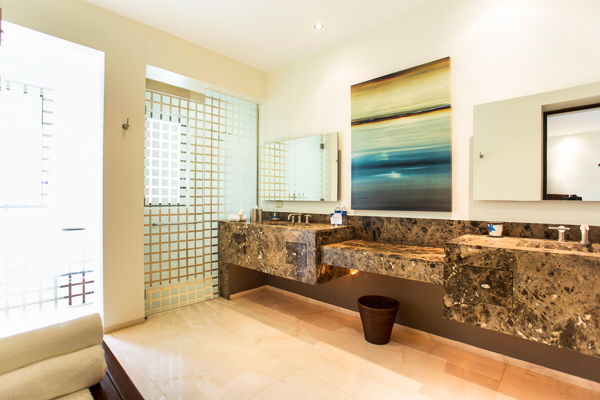 Bathroom at Villa LSV SER (Serena) at Mexico, Cabo San Lucas, Family-Friendly Villa, Pool, 5 Bedrooms, 5 Bathrooms, WiFi, WIMCO Villas