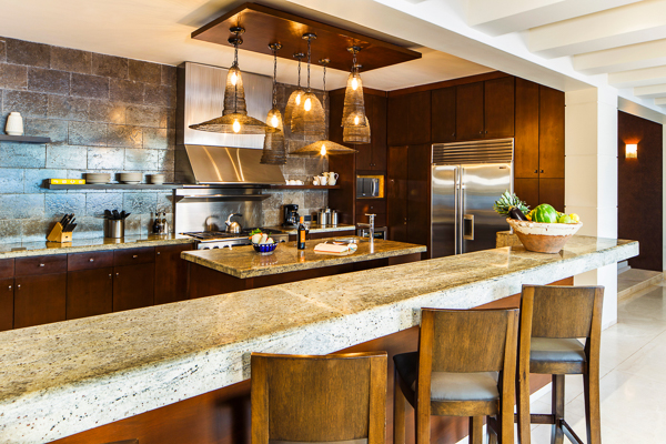 Kitchen at Villa LSV SER (Serena) at Mexico, Cabo San Lucas, Family-Friendly Villa, Pool, 5 Bedrooms, 5 Bathrooms, WiFi, WIMCO Villas