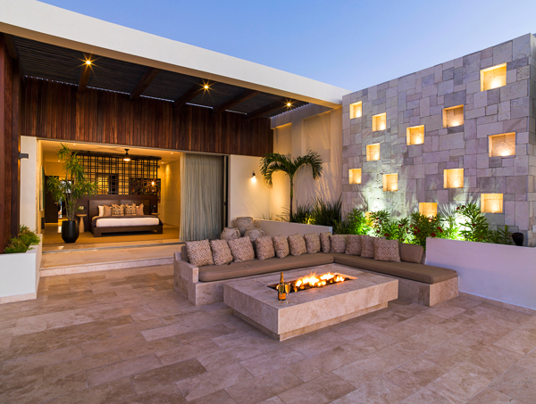 Terrace at Villa LSV SER (Serena) at Mexico, Cabo San Lucas, Family-Friendly Villa, Pool, 5 Bedrooms, 5 Bathrooms, WiFi, WIMCO Villas