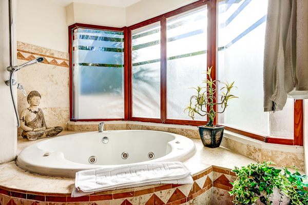 Bathroom at Villa ML2 VDM (Villa Del Mar) at Mexico, Playa Del Carmen, Family-Friendly Villa, Pool, 5 Bedrooms, 4 Bathrooms, WiFi, WIMCO Villas