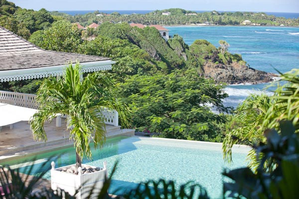 The view from Villa MV FRA (Frangipani) at Mustique, Hillside, Family-Friendly Villa, Pool, 7 Bedrooms, 6 Bathrooms, WiFi, WIMCO Villas