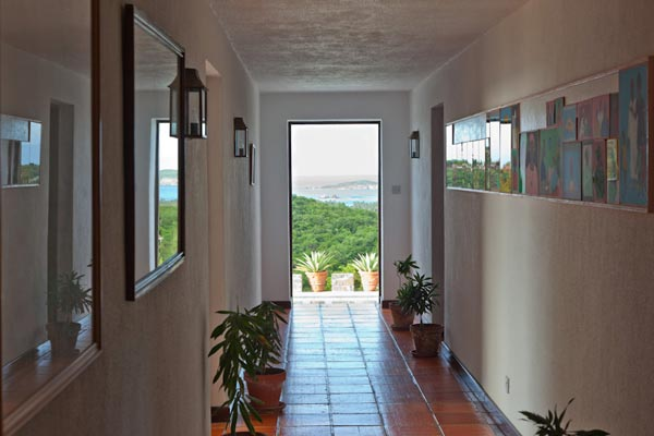 The view from Villa MV FRT (Fort Shandy) at Mustique, Hillside, Family-Friendly Villa, Pool, 4 Bedrooms, 4 Bathrooms, WiFi, WIMCO Villas