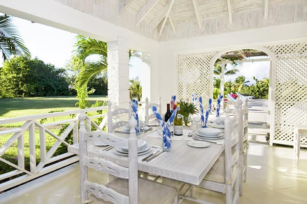 Dining Room at Villa MV GRS (Grasshopper) at Mustique, Hillside, Family-Friendly Villa, Pool, 3 Bedrooms, 3 Bathrooms, WiFi, WIMCO Villas